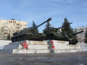 12 танковый полк Кантемировской дивизии