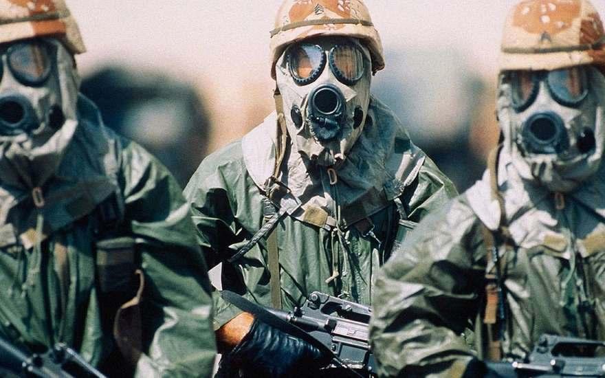 Игил химическое оружие