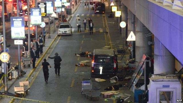 Теракт в Турции Стамбуле