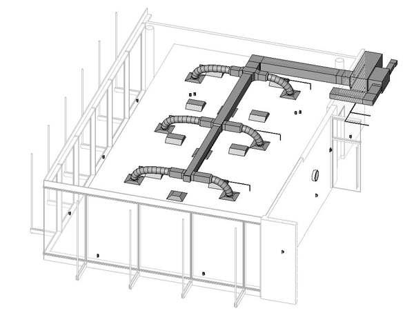 Отопительная система жилого здания