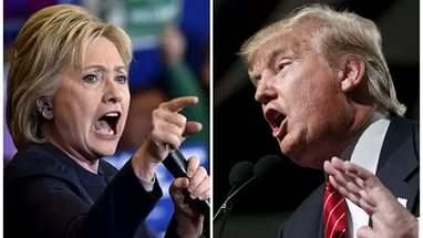 Дебаты Хилари Клинтон и Дональда Трампа