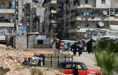Гуманитарные коридоры в Алеппо