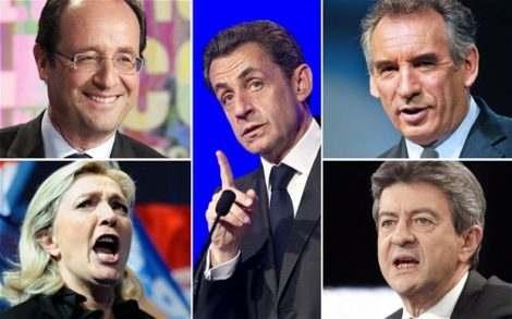 Кандидаты на выборах во Франции