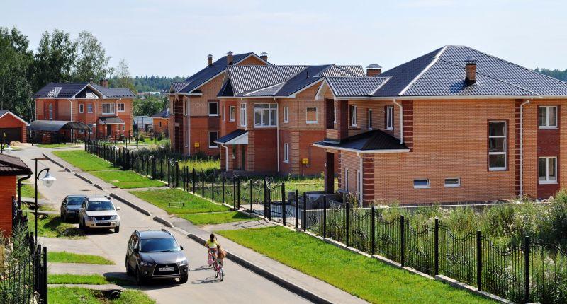 коттеджный поселок в красноярске фото