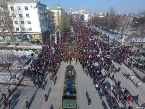 Украина ползет на Донбасс