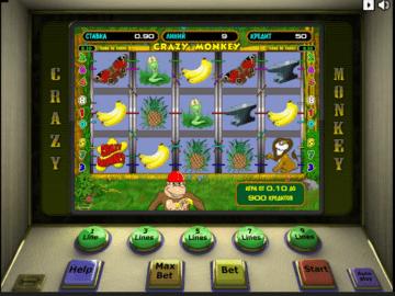 Автомат crazy monkey играть