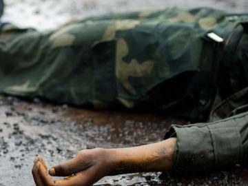Самоубийство военнослужащего