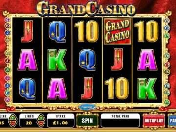 Популярные игровые автоматы от Grand casino