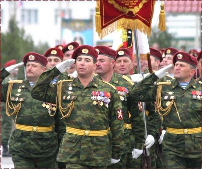Структура Внутренних войск