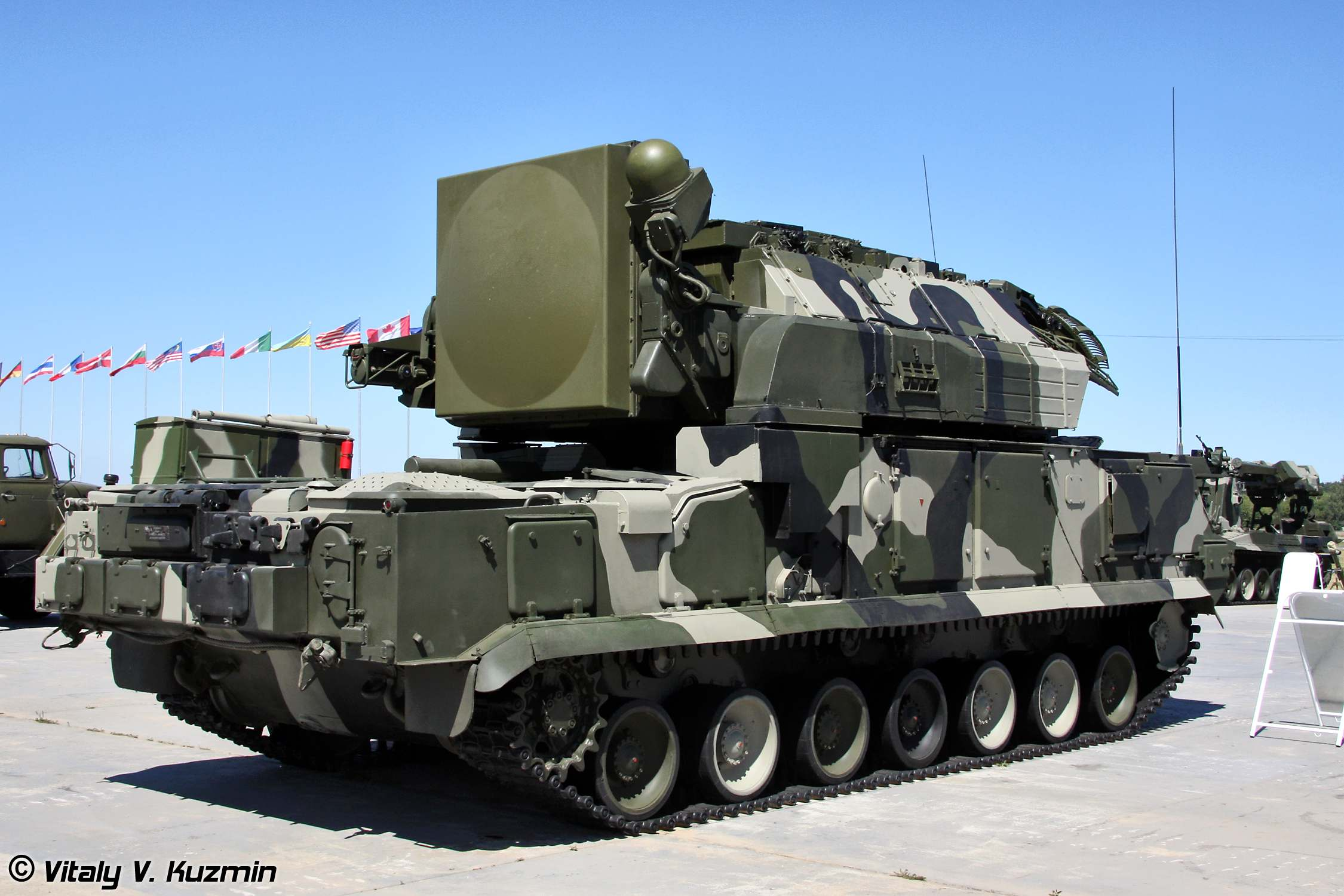 Зенитно-ракетный комплекс ТОР