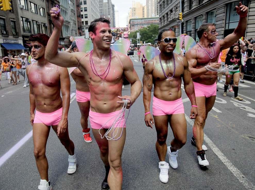 Как прошел гей парад в Киеве