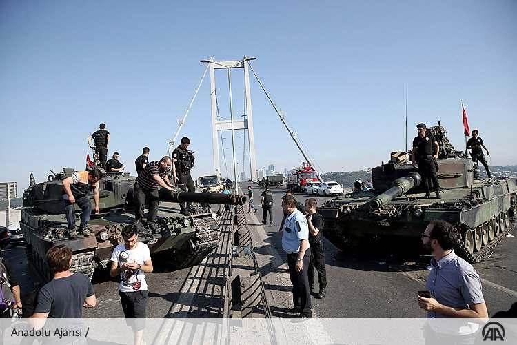 Военный переворот в государстве Турции