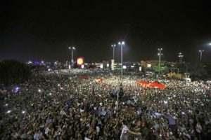 Военный переворот в Турции не удался