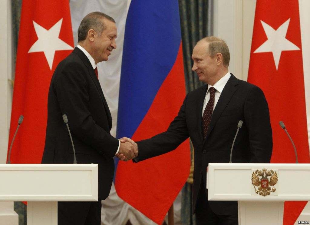 Приезд Эрдогана в Москву