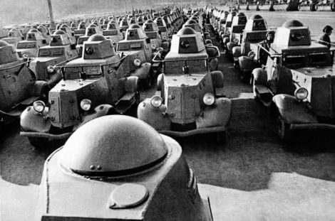 Бронемашины второй мировой войны