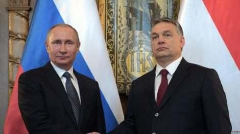 Отношения Венгрии и России
