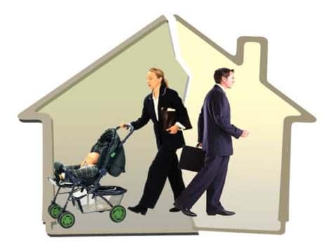 Разделить ипотеку при разводе, если есть дети