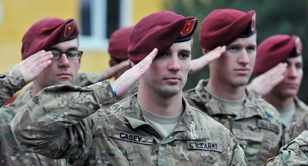 Заработная плата солдат из армии США