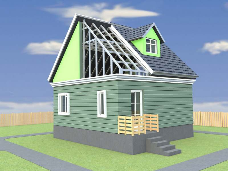 Построить небольшой дом быстро и недорого теперь может каждый