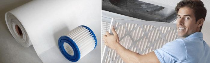 Нетканые фильтровальные материалы