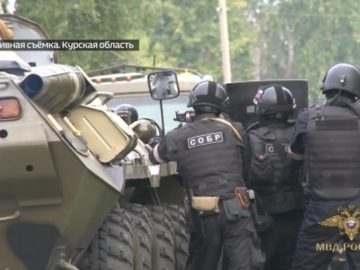 В Курске задержан подозреваемый в убийстве полицейского