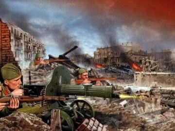 77 годовщина победы в Сталинградской битве