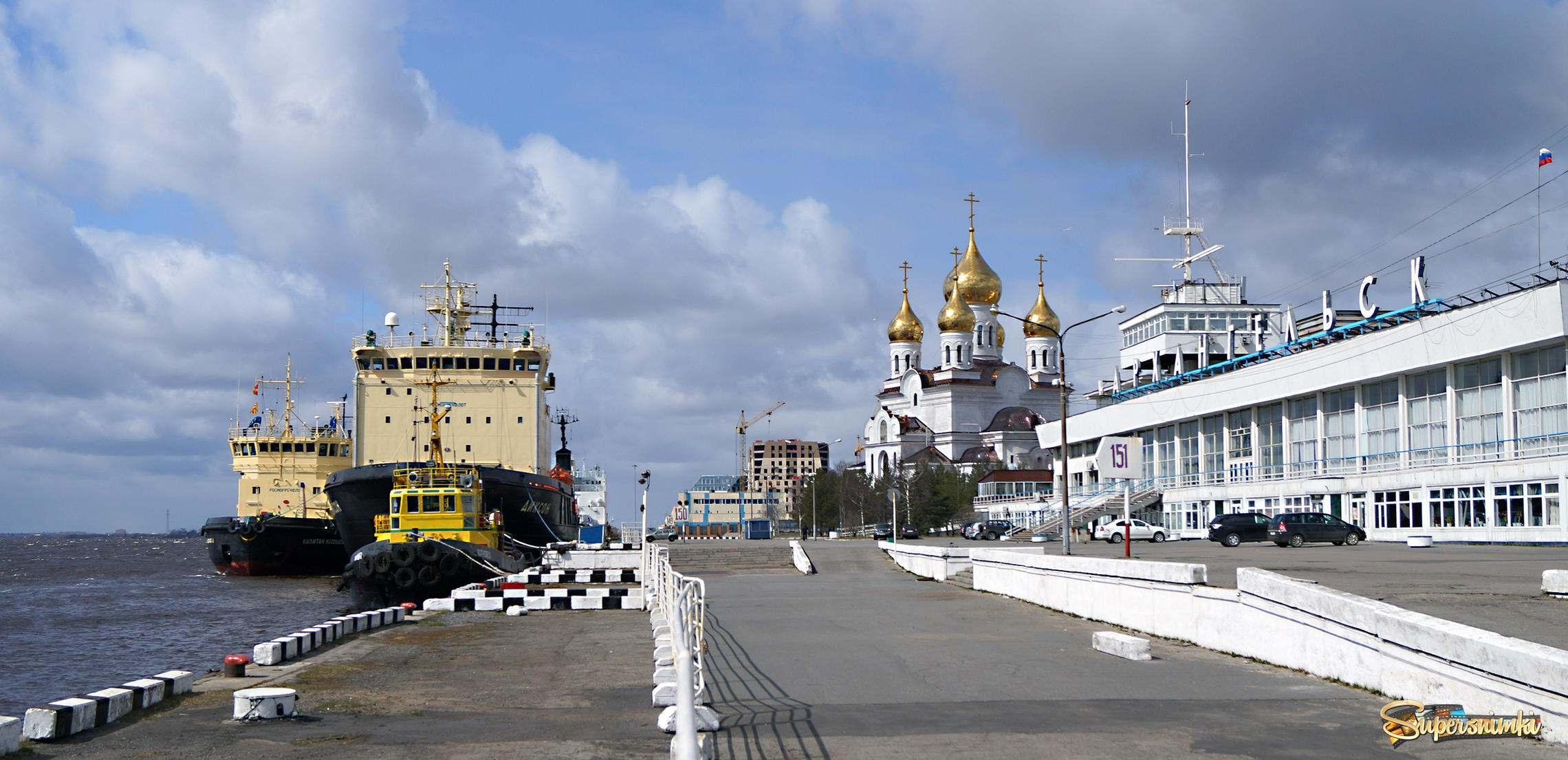 Воинские части города Архангельска