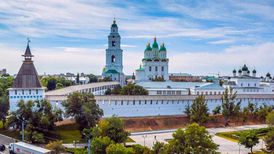 Воинские части города Астрахани