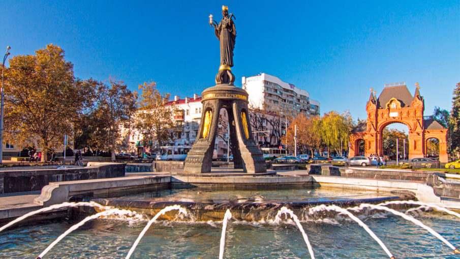 Воинские части города Краснодара