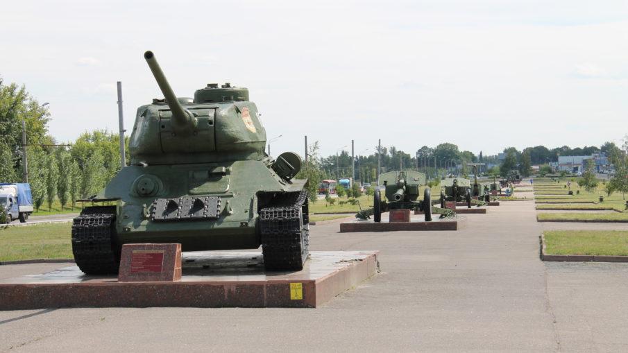 Воинские части города Курска