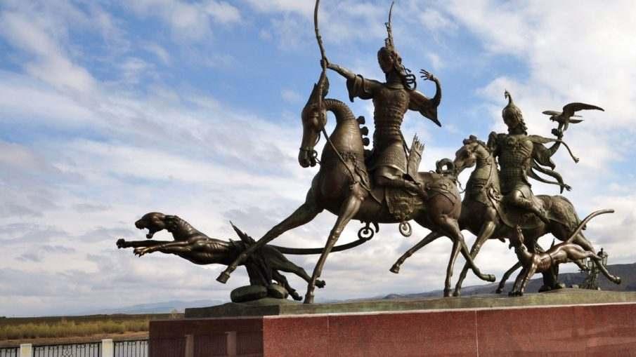 Воинские части города Кызыл