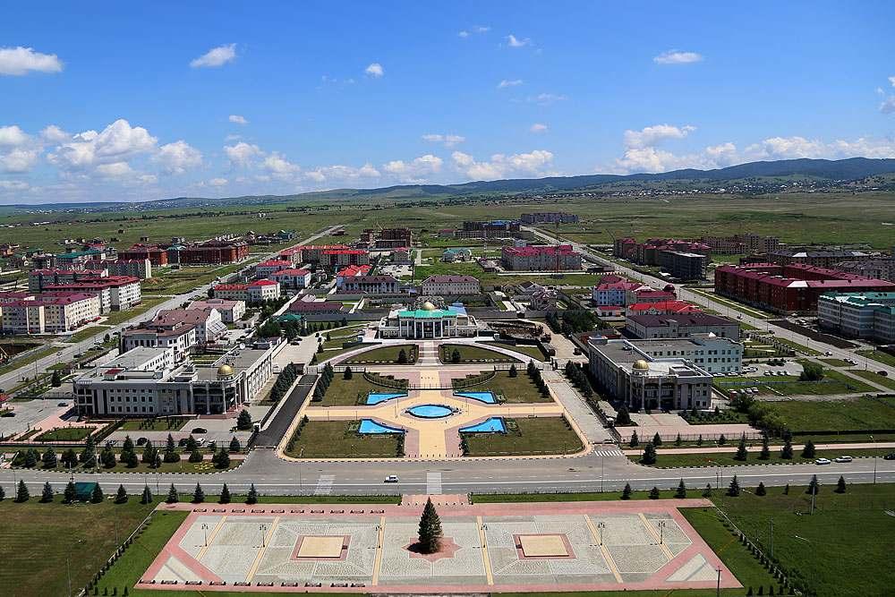 Воинские части города Магас