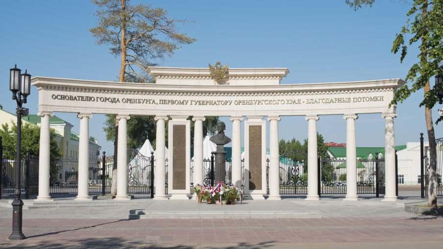 Воинские части города Оренбурга