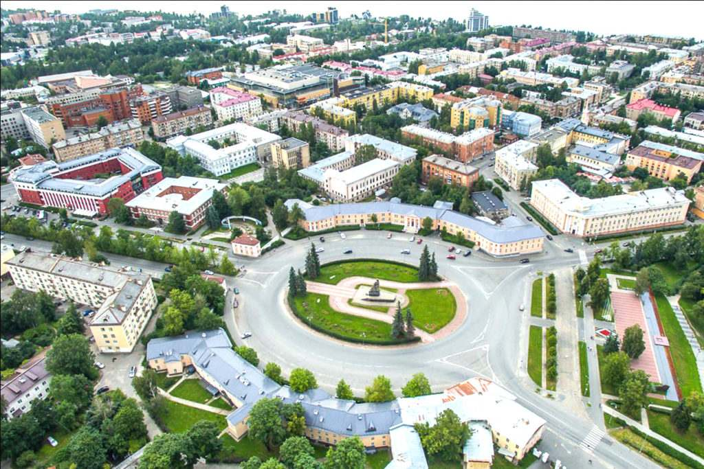 Воинские части города Петрозаводска