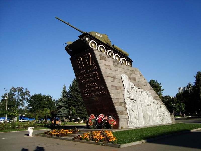 Воинские части города Владикавказа