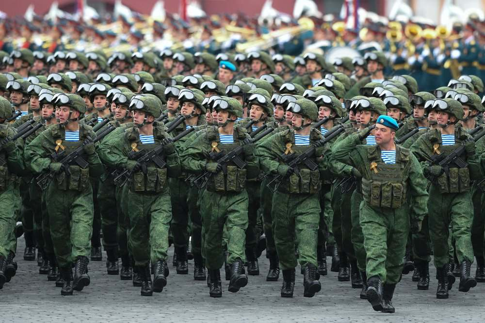 Воинские части в городах