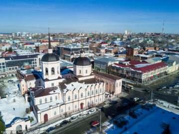 Воинские части города Томска