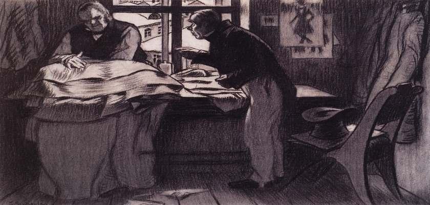 Петербургская повесть Гоголя - Шинель