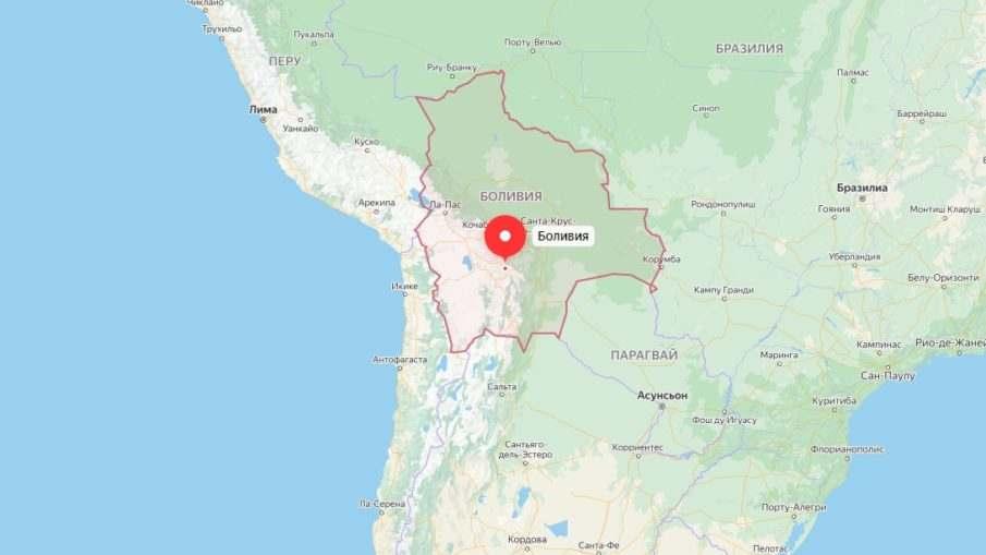 Боливия не имеет выхода к морю
